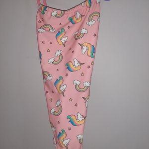 NWT Zara Unicorn Rainbow Swimsuit Bathing Suit 4 5